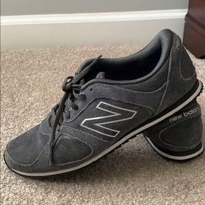 New balance 555 women's gray suede sneakers